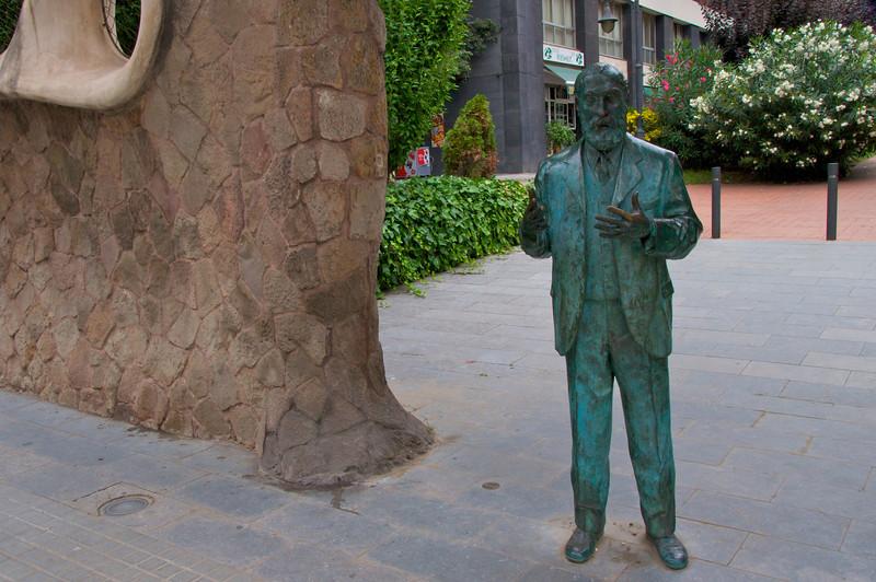 Statue of Gaudi