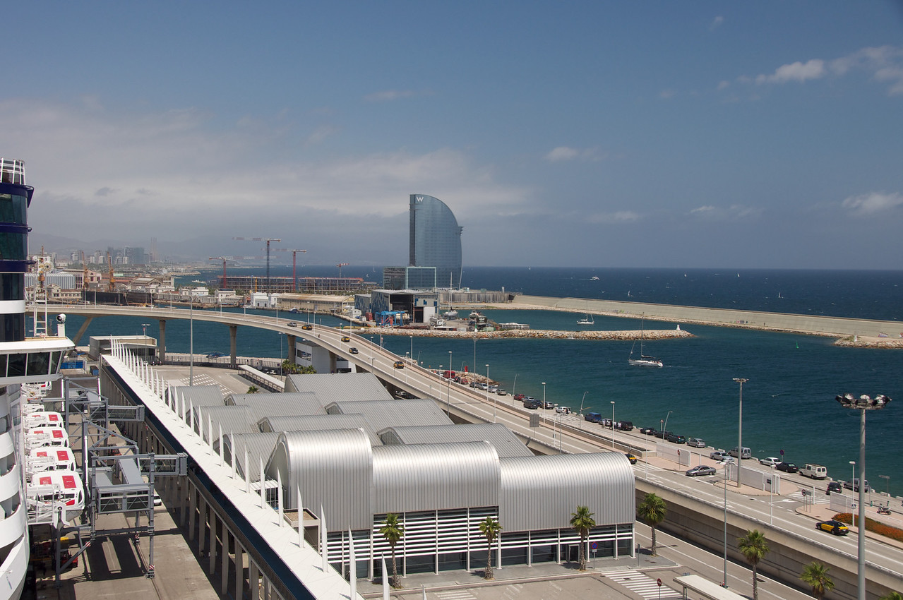 Approach to Ship from Barcelona (1)
