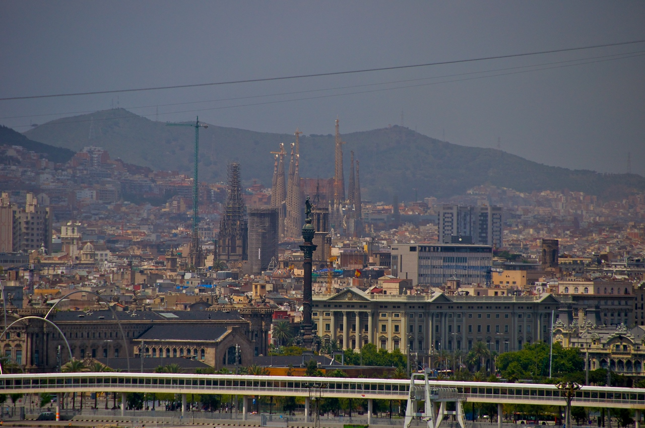 Barcelona from Deck 15