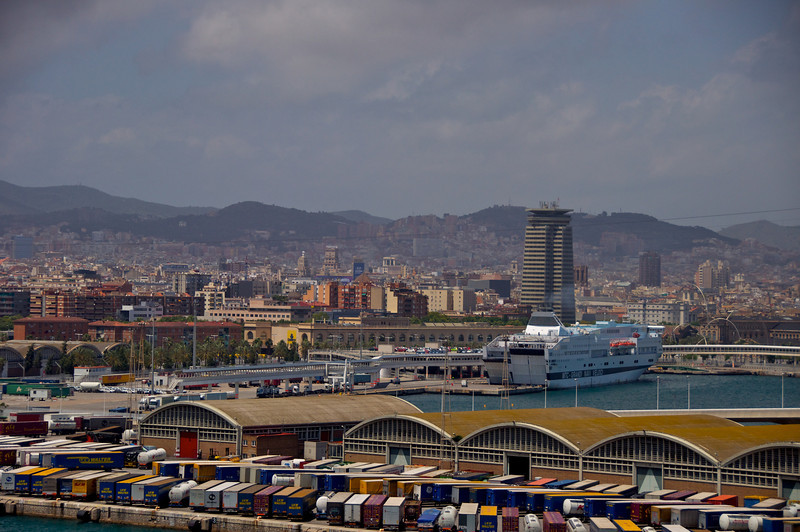 Another Shot of Barcelona from Deck 15