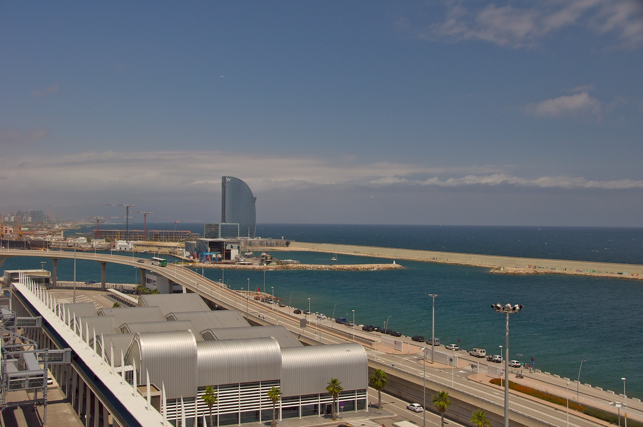 Approach to Ship from Barcelona