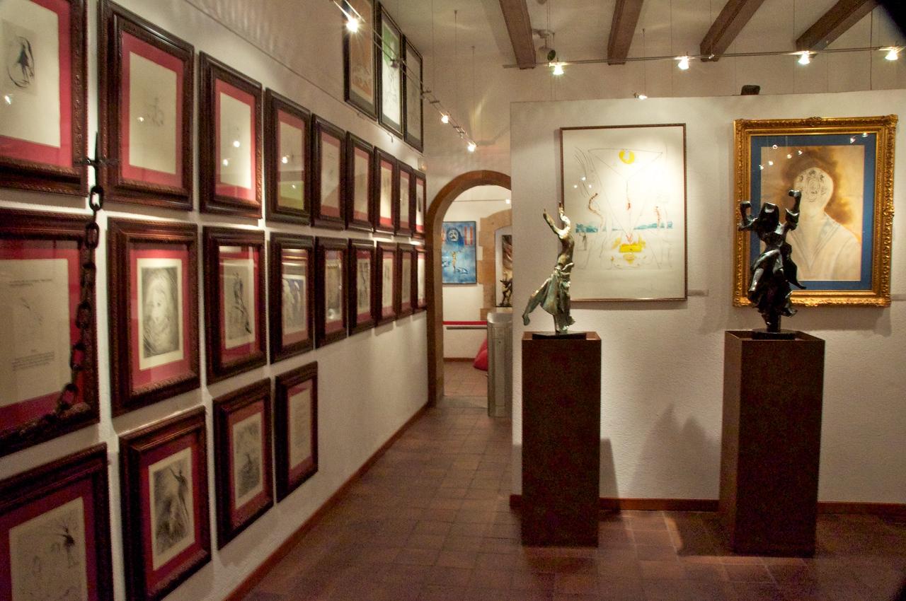 Inside the Dali Museum in Barcelona
