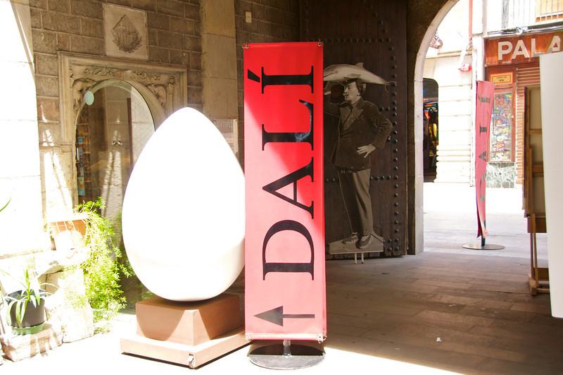 Entrance Dali Museum