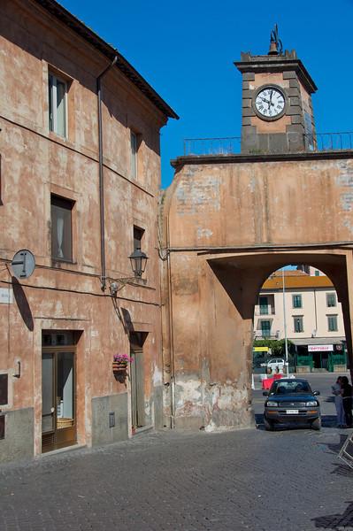 Main Entrance to Tuscania