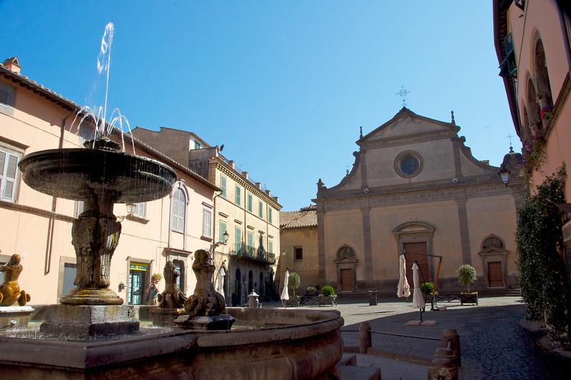 Tuscania Main Square, Cathedral