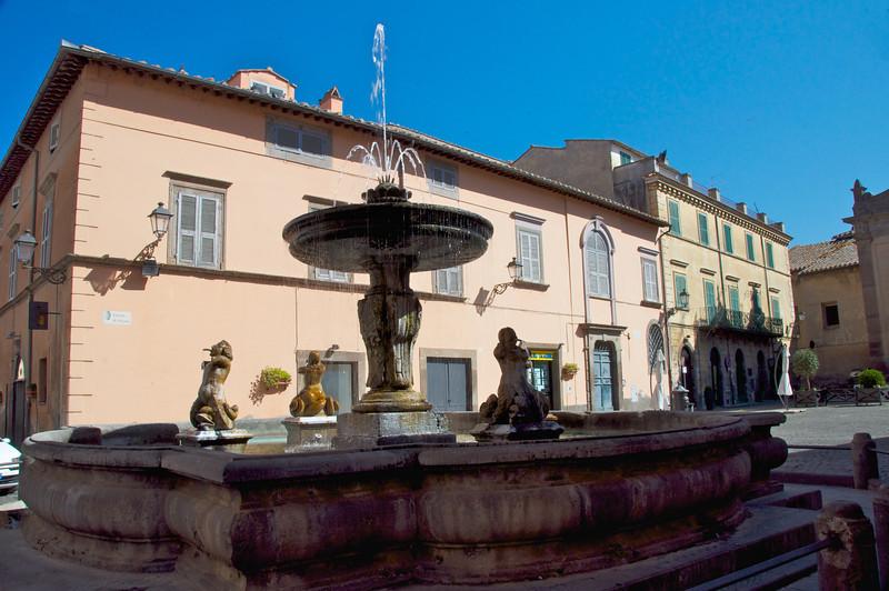 Main Square in Tuscania
