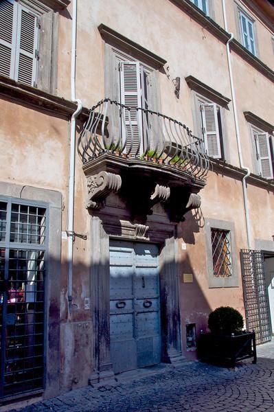 17th Century Balcony