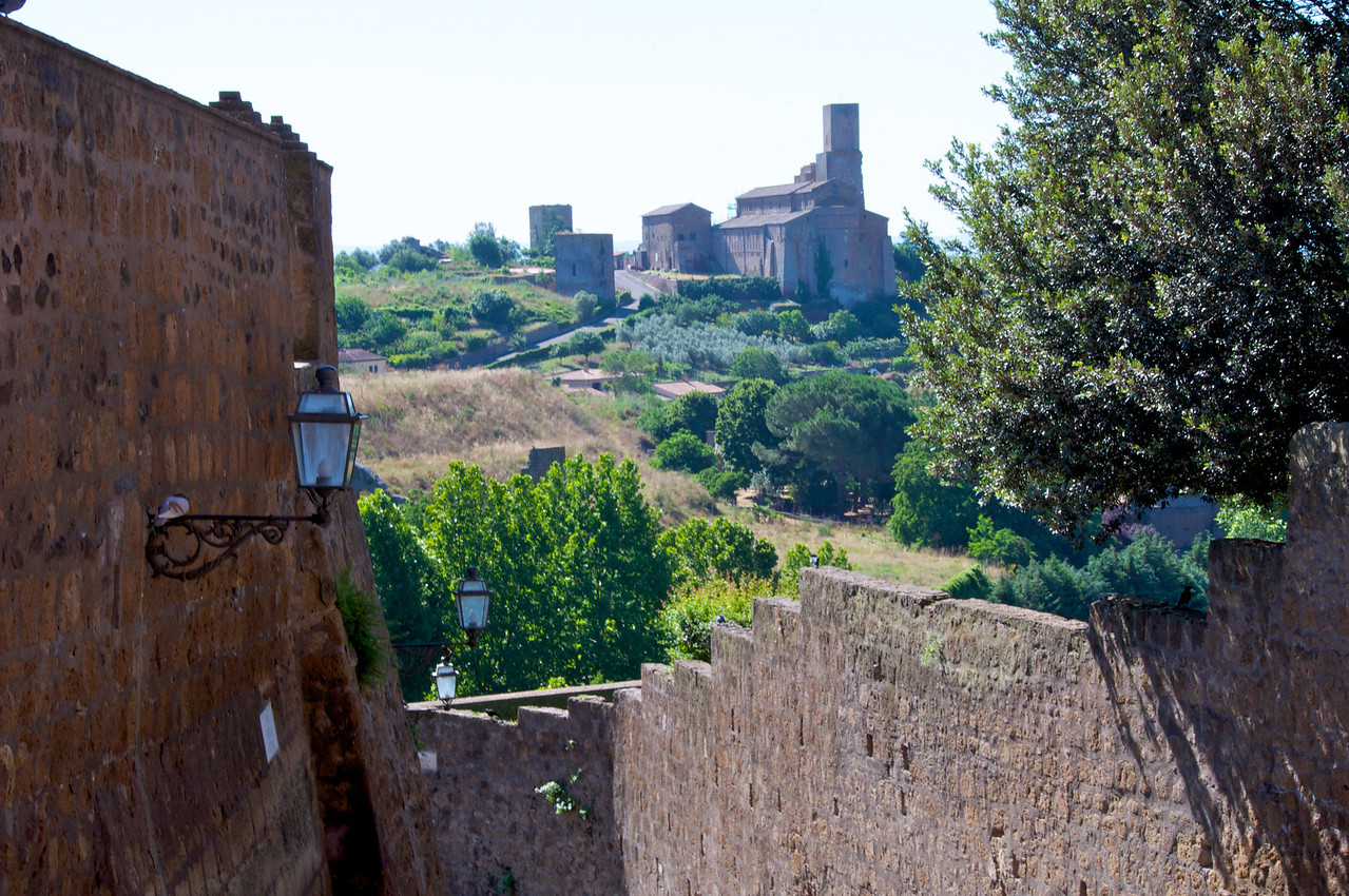 View from The End of Tuscania Main Street