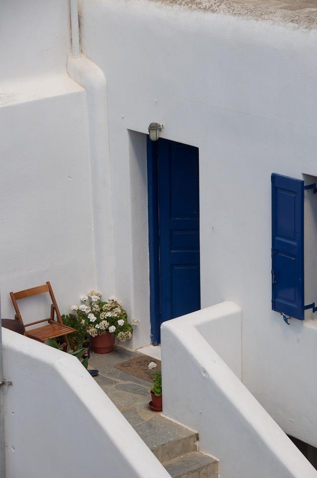 Quaint Patio of Private Home
