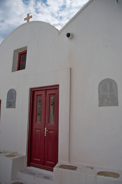 Front Door of Church