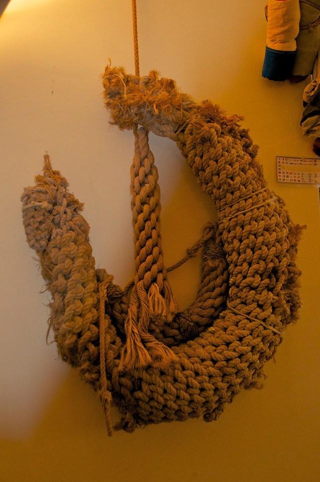 Part of Naval Museum Exhibit