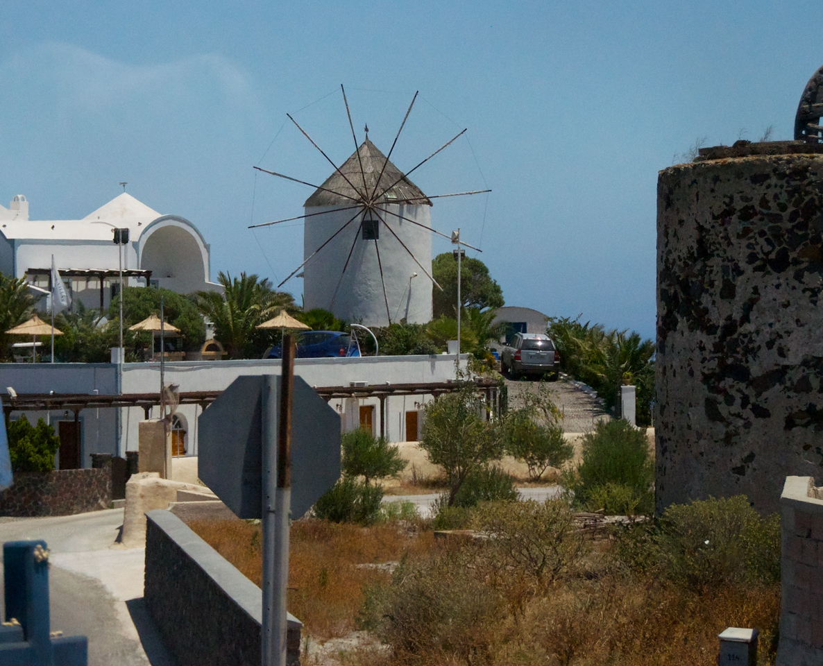 There Are Windmills on The Eastern Side of The Island