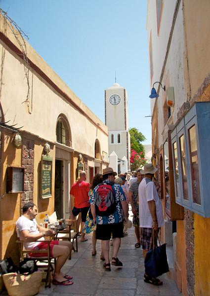 Pedestrian Street of Oia