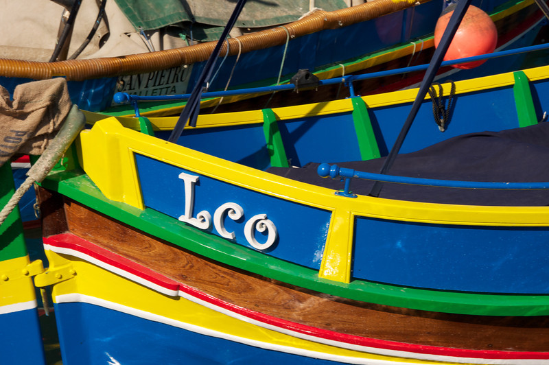 All The Boats Display Names Prominently on Front