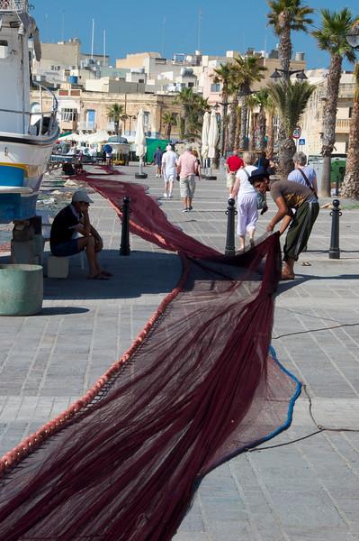 Fishing Net Was Quit Long