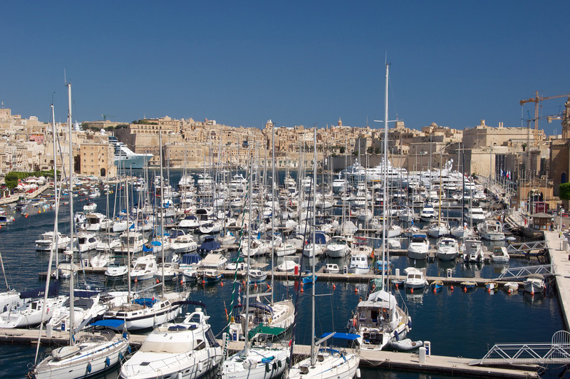 Grand Harbor Marina   Bill Gates,Gadhafi and Many Other Famous Visitors Moor Their Yachts Here When Visiting Malta