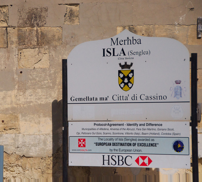Entering Isla-Senglea