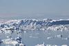 Ice, Disko Bay, outside Ilulissat, Greenland