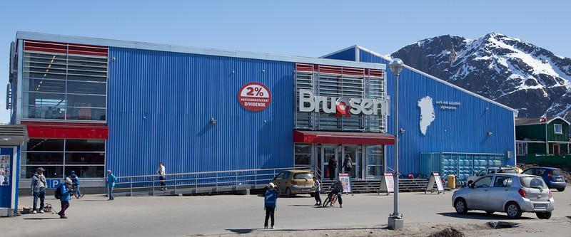 Local Sisimiut supermarket