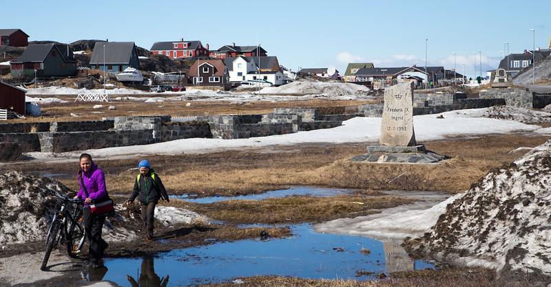 Nuuk city scene