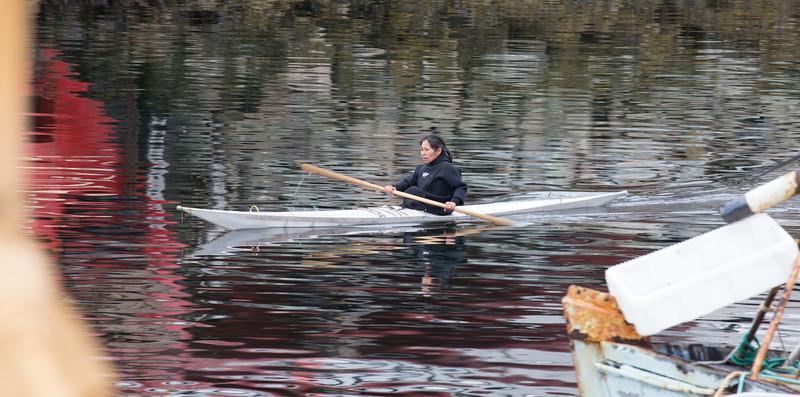 Kayaking in Qaqortoq