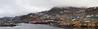 Qaqortoq harbor panorama