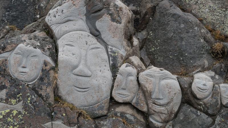 "In ""Stone and Man"" exhibition, Qaqortoq. Inspired by Aka Høegh"