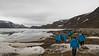 Hiking at Great Lake (still frozen), Qaqortoq