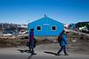 Ilulissat city scene