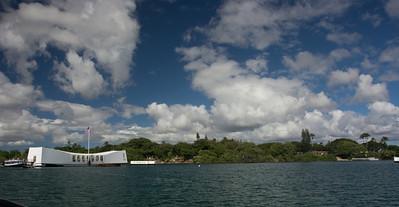 USS Arizona Memorial at Pearl Harbor