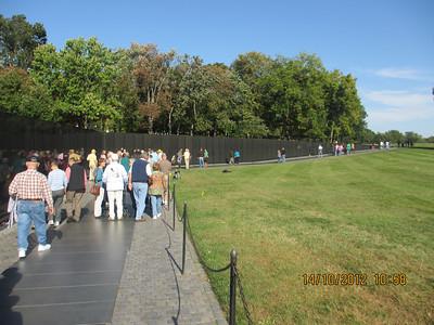 Vietnam War Memorial Wall