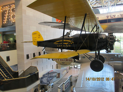 The National Air and Space Museum (NASM) of the Smithsonian Institution holds the largest collection of historic aircraft and spacecraft in the world.