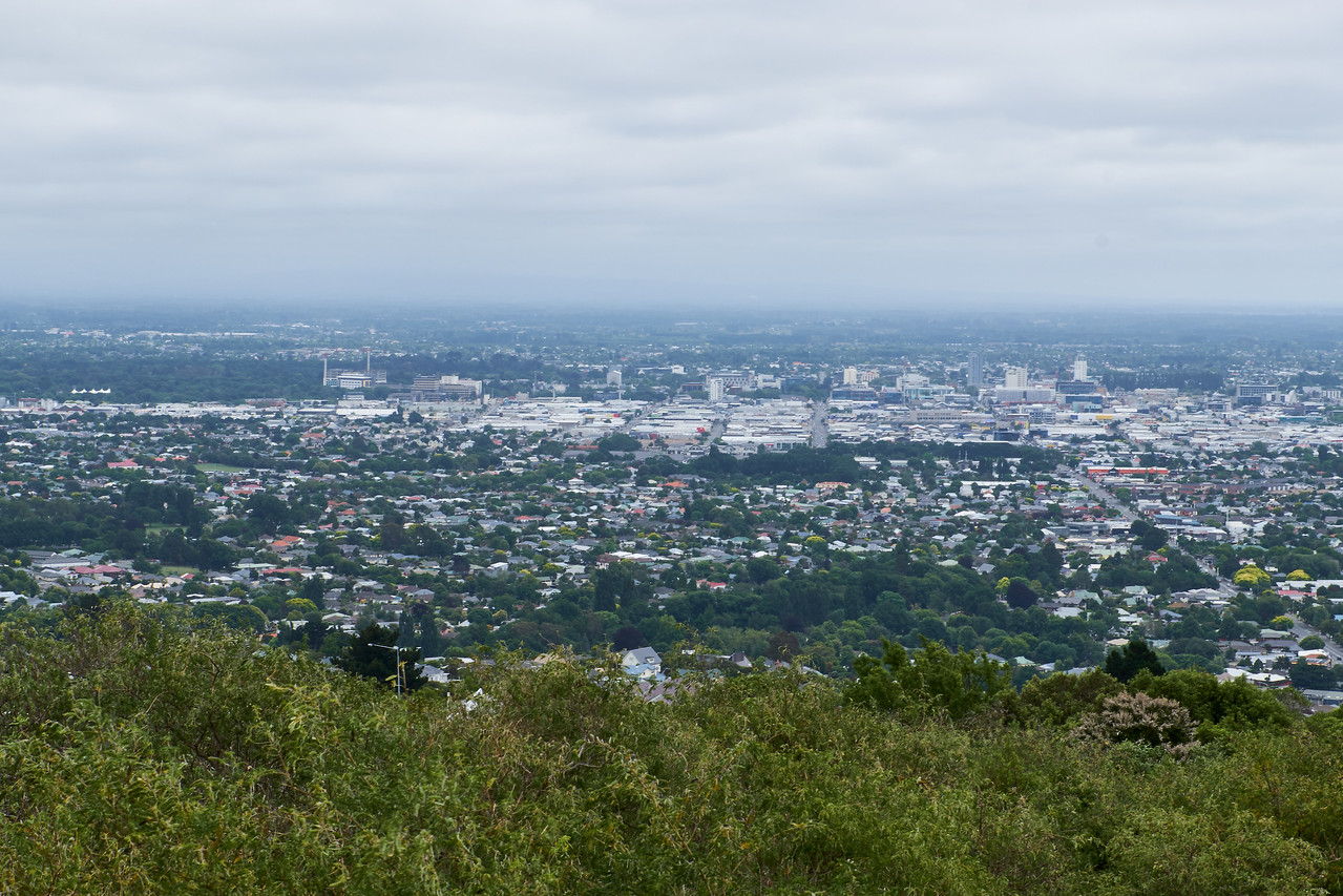 View #2 of Christchurch from Takahe Lookout.