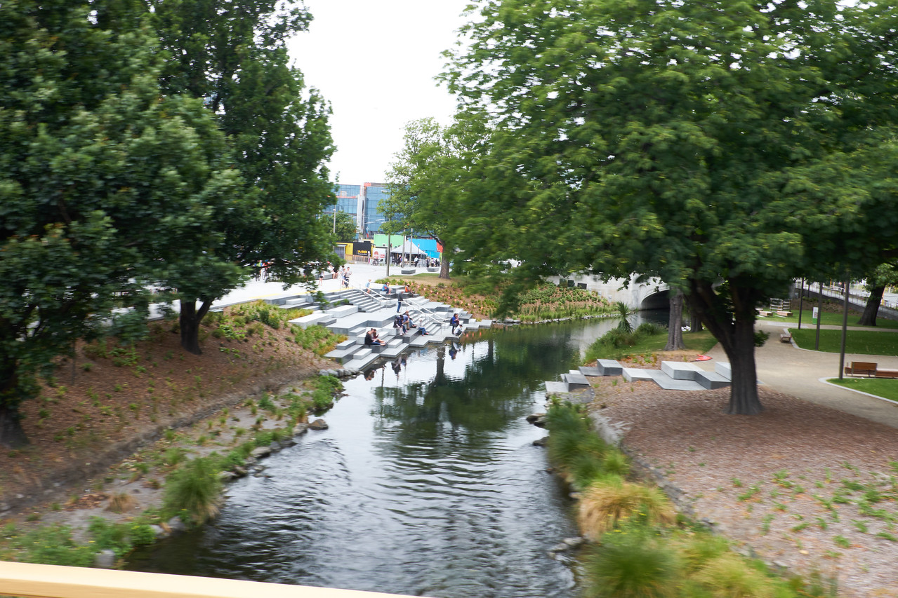 Avon River Park (from bus).