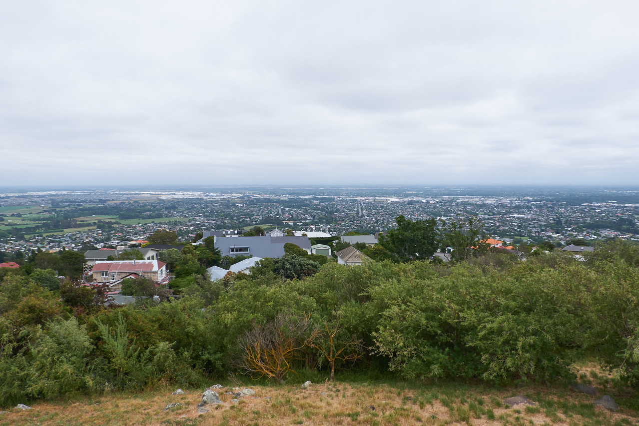 View #1 of Christchurch from Takahe Lookout.