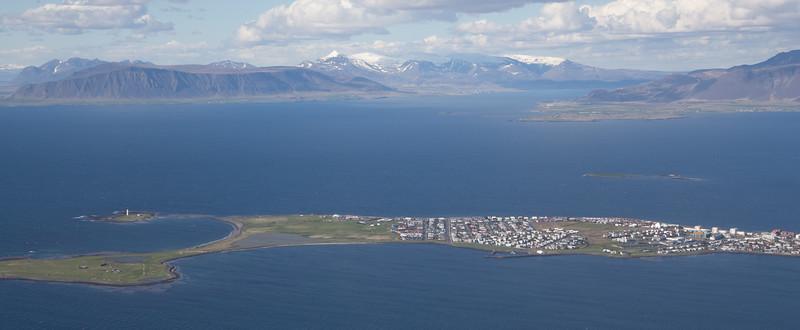 Arriving Reykjavik