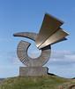 Sculpture On Borgarfjörður, Borgarnes, Iceland