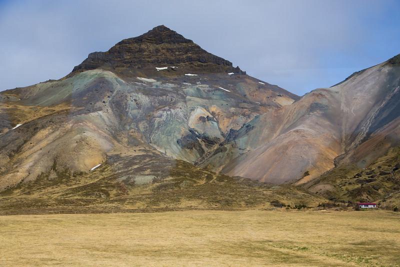 Rhyolite Mountains, Snæfellsnes peninsula