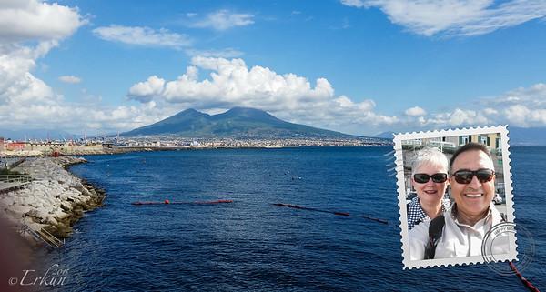 Vesuvius - from Naples