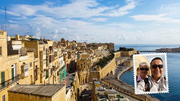 Valletta - from the Upper Barrakka Gardens