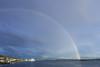 Rainbow over Molde