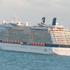 Celebrity Reflection pulling out of the Port of Miami passing us 12/07/2013