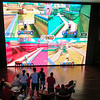 Nintendo Wii U on the Big Screen in the Atrium of the Norwegian Epic 12/08/13