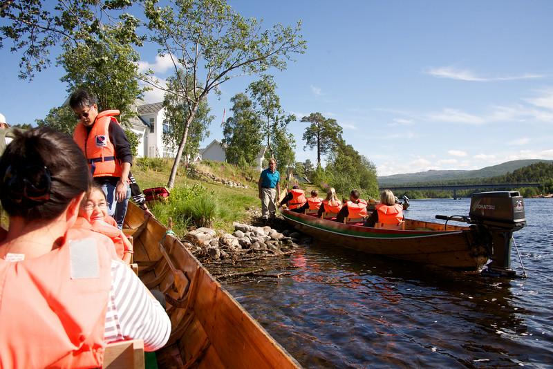 Five Passengers per Canoe