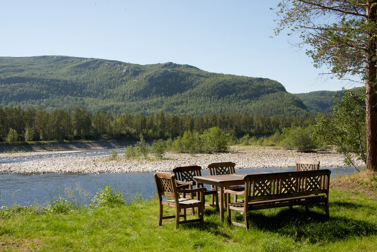Setting Overlooking Alta River