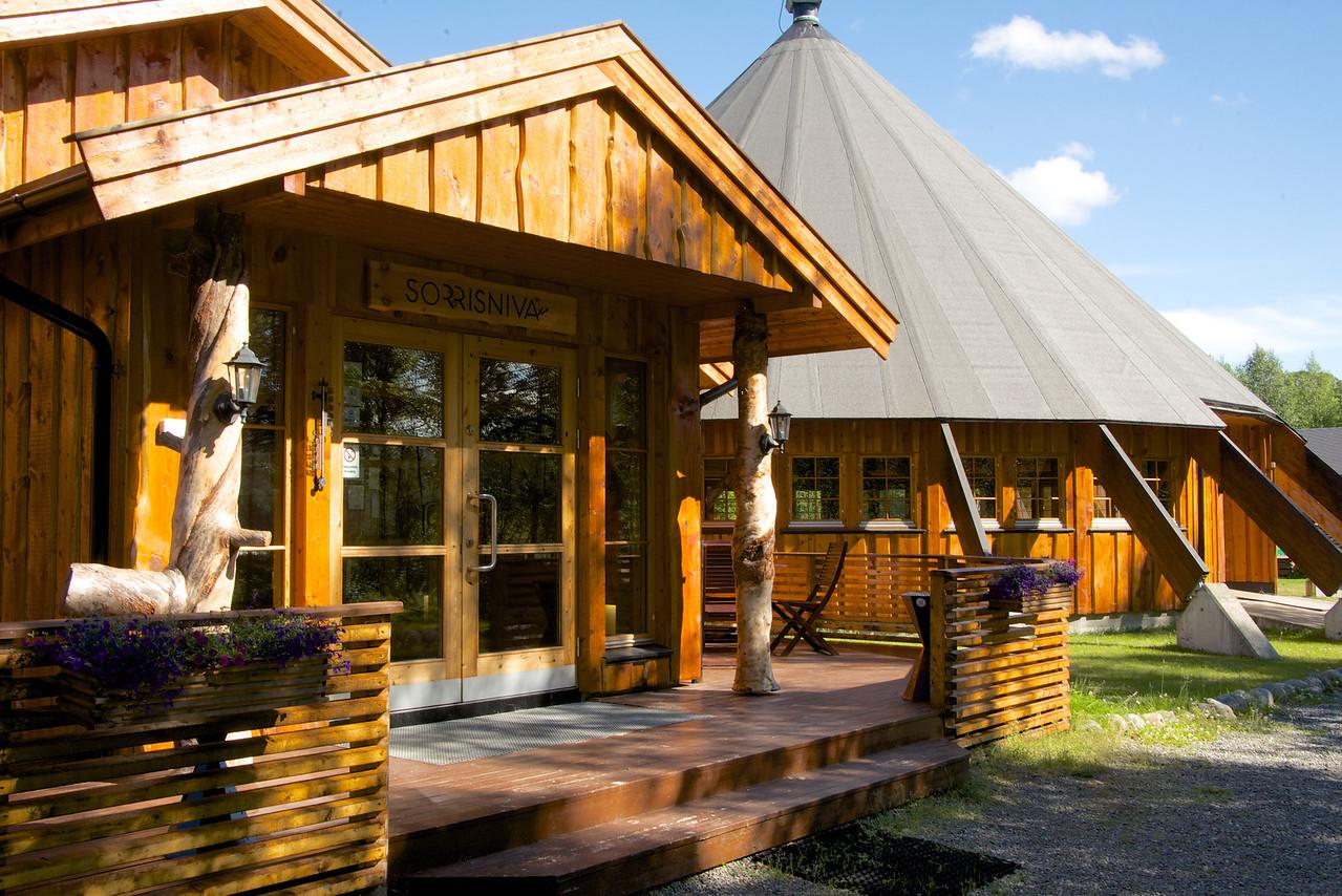 Welcome Center at Sorrisniva