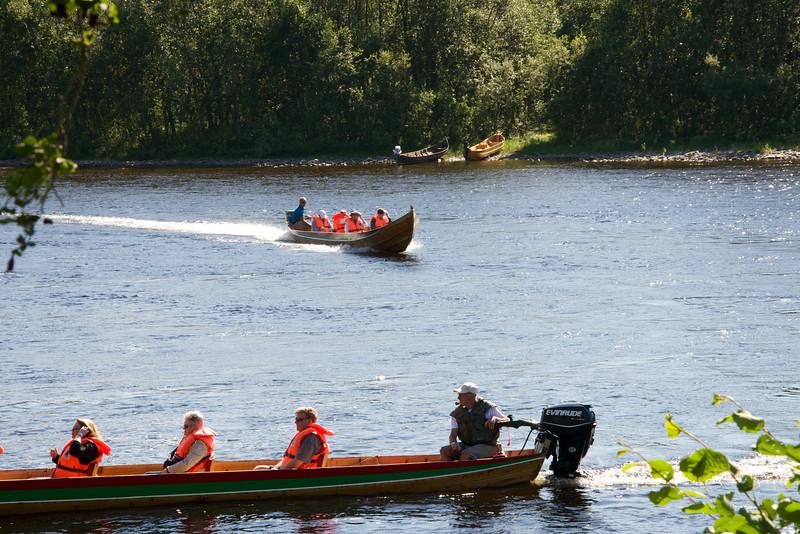 Motorized Canoes