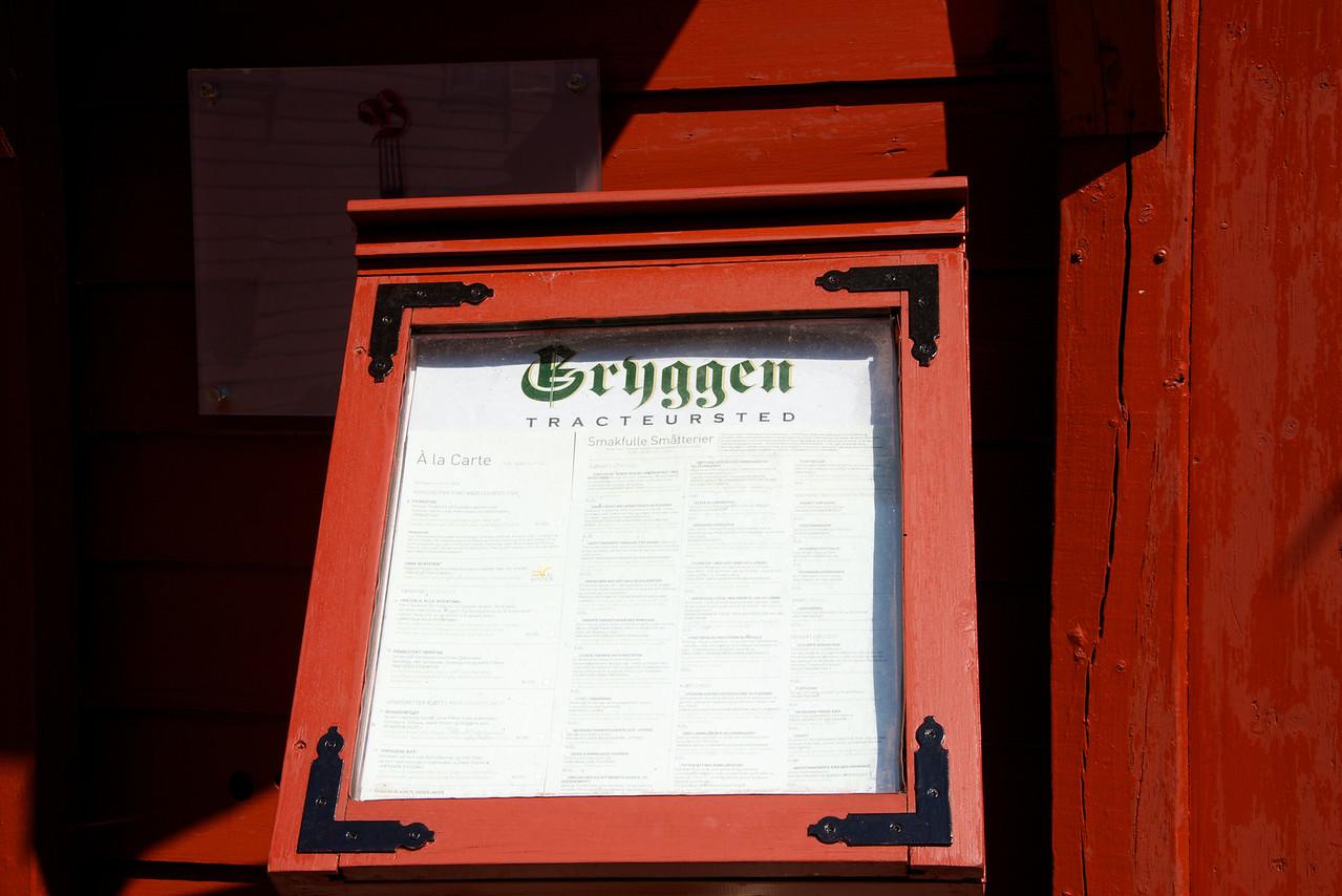 Ate lunch in the oldest restaurant in Bergen in the Bredsgarden District