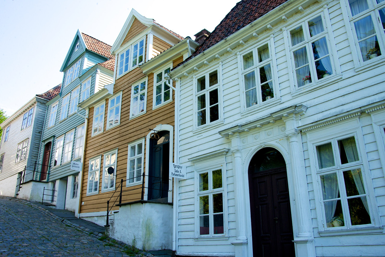 Streets of houses at Museum