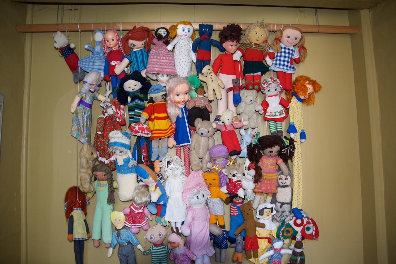 Variety of Dolls